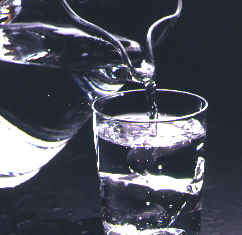 refillable water glass