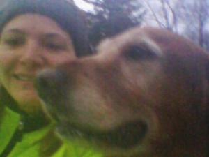 Karin and Rusty run